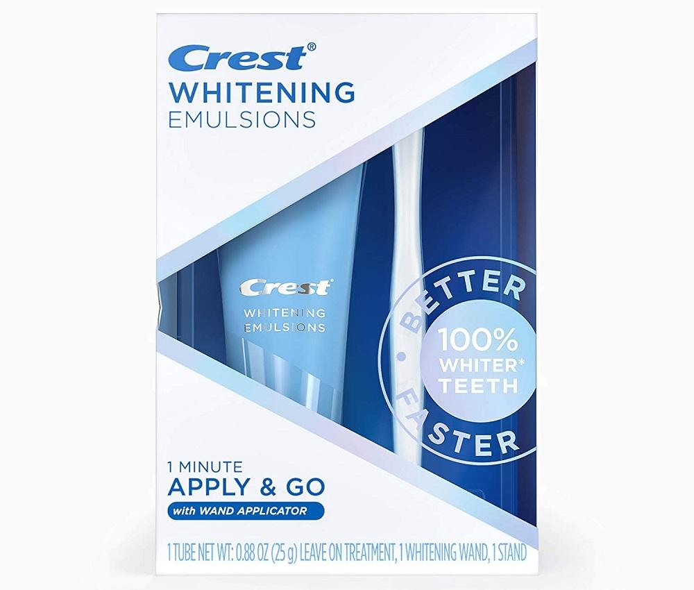 Crest® Whitening Emulsions Apply & GO