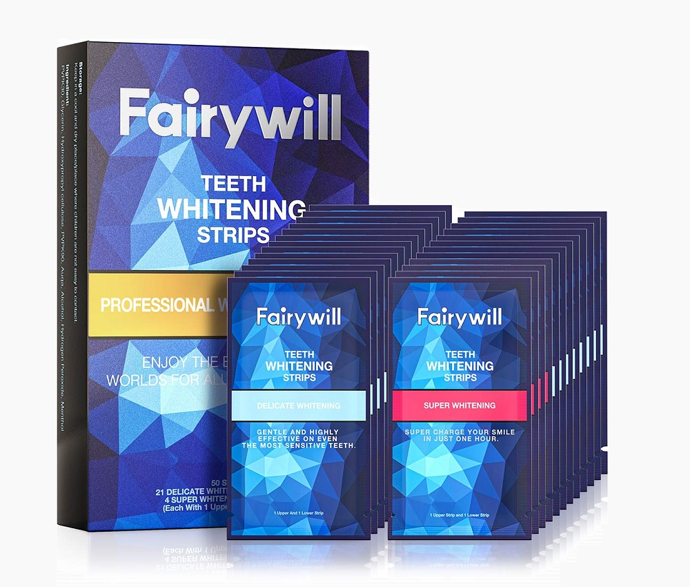 Fairywill® Whitestrips Professional Whitening Combo